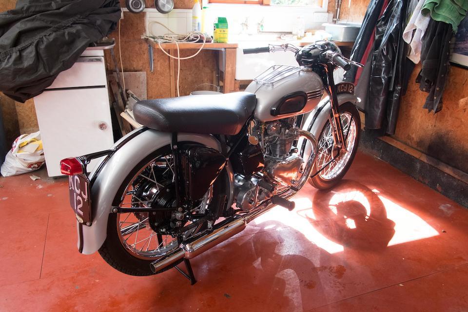 1953 Triumph 498cc Tiger 100 Frame no. 32599 Engine no. T100 32599
