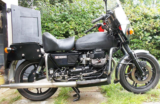 1975 Moto Guzzi V1000/G5 Frame no. VG12966 Engine no. VG092452