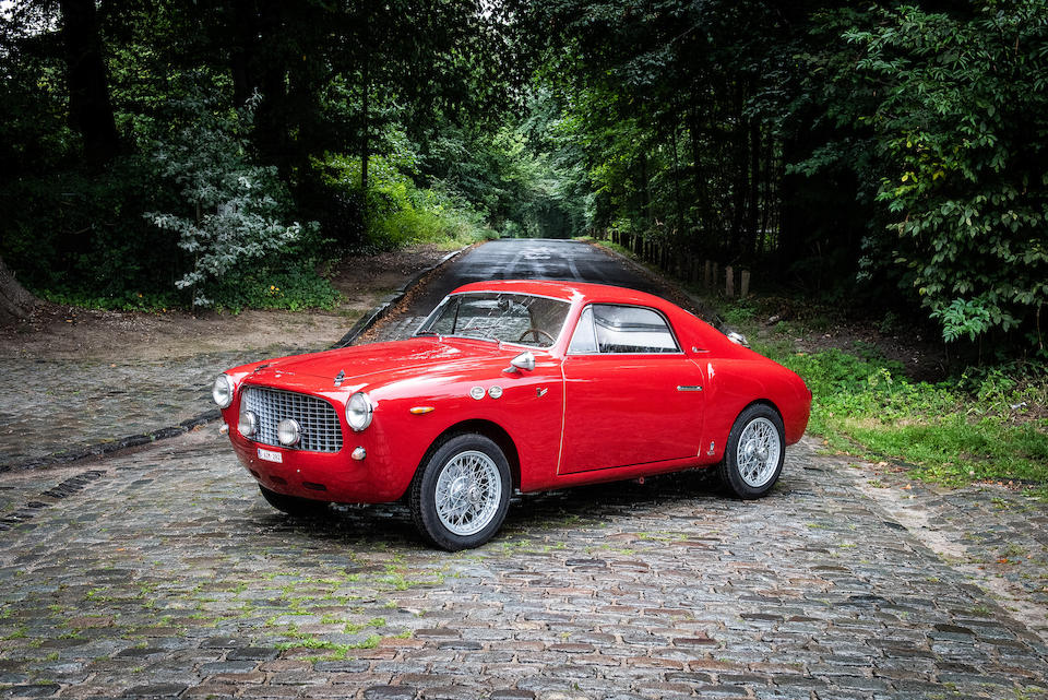 One-off,1955 FIAT  1100 Turismo Veloce Series 1 Coupé  Chassis no. 127637