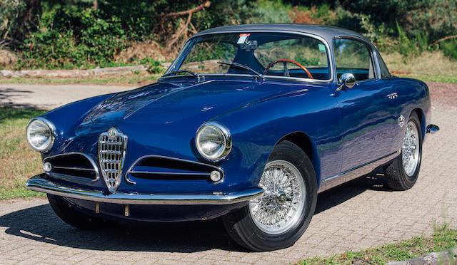 Multiple Mille Miglia participant (2014, 2016, 2019),1957 Alfa Romeo  1900C Super Sprint Series 3 Three-window Coupé  Chassis no. AR1900C 10517