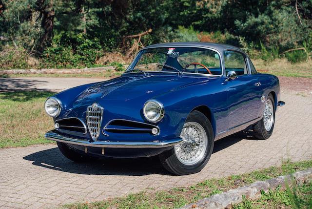 1957 Alfa Romeo 1900C Super Sprint Series 3 Three-window Coupé