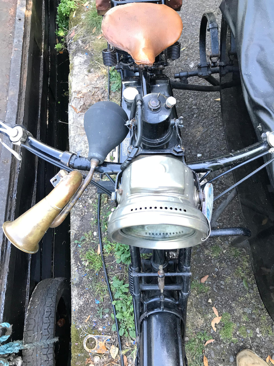 1918 Sunbeam 4hp French Military Motorcycle Combination Frame no. 7863 Engine no. 134/7963