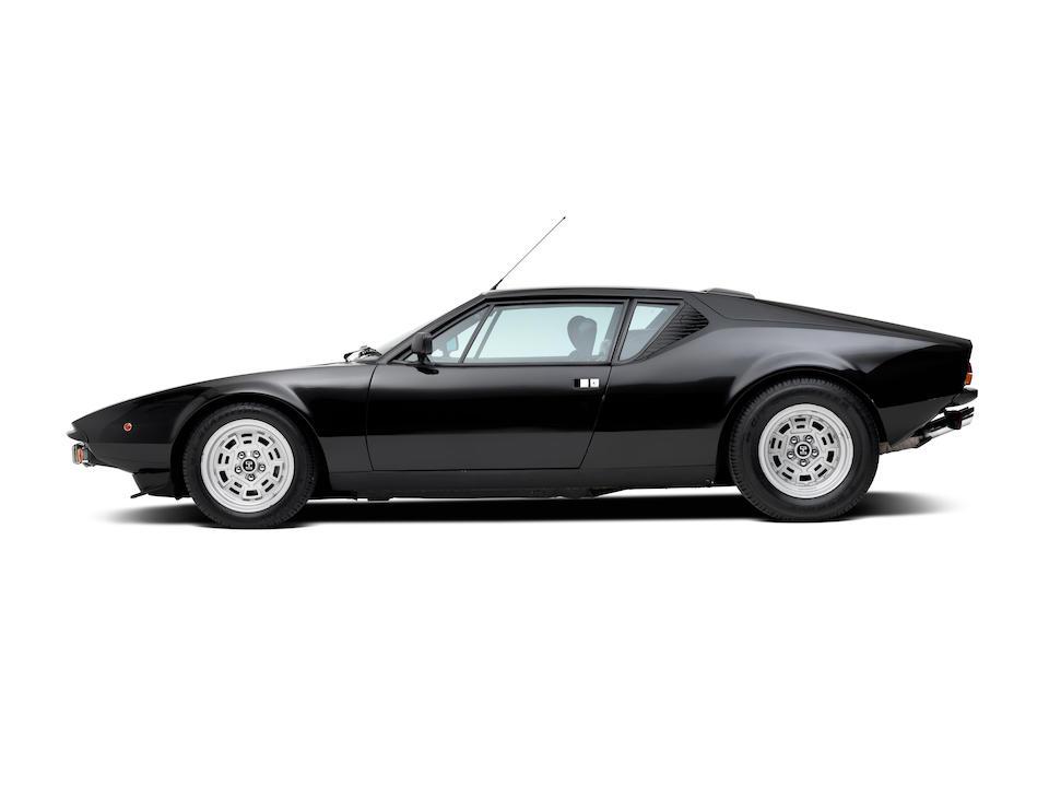 Only 27,000 kilometres from new,1979  De Tomaso Pantera GTS 'Narrow Body'  Chassis no. THPNUD09137