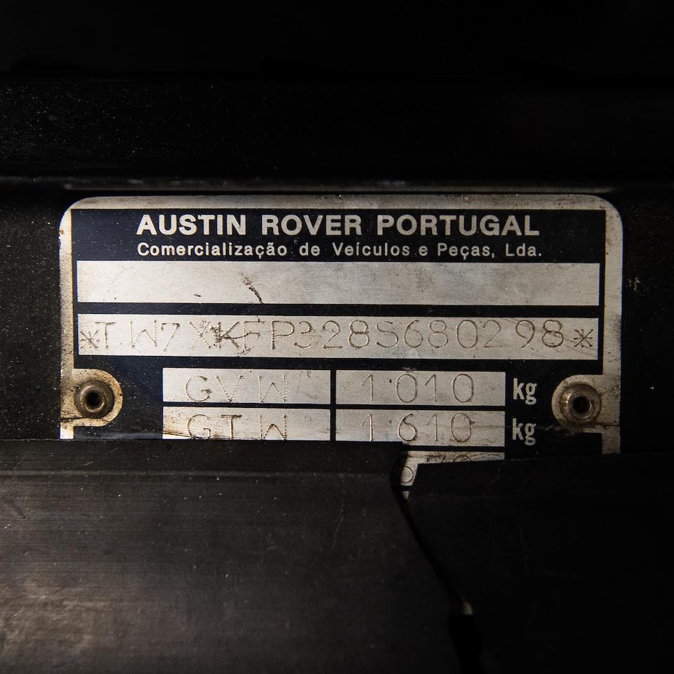 1986 Austin  Mini Moke  Chassis no. TW7XKFP3285680298