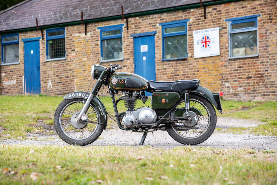 1961 Matchless 348cc G3L Frame no. A78804 Engine no. 60/G3 40179