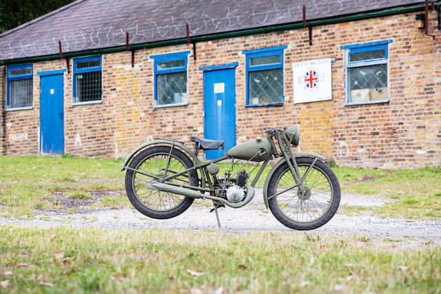 c.1939 Royal Enfield 125cc 'Flying Flea' Military Motorcycle Frame no. 1345 Engine no. V2588