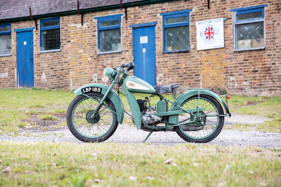 1949 BSA 123cc Bantam D1 Frame no. 1D112589 Engine no. 15782