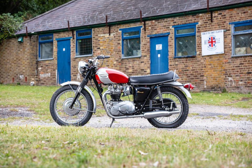 1969 Triumph 649cc T120R Bonneville Frame no. GC2204 T120R Engine no. GC2204 T120R