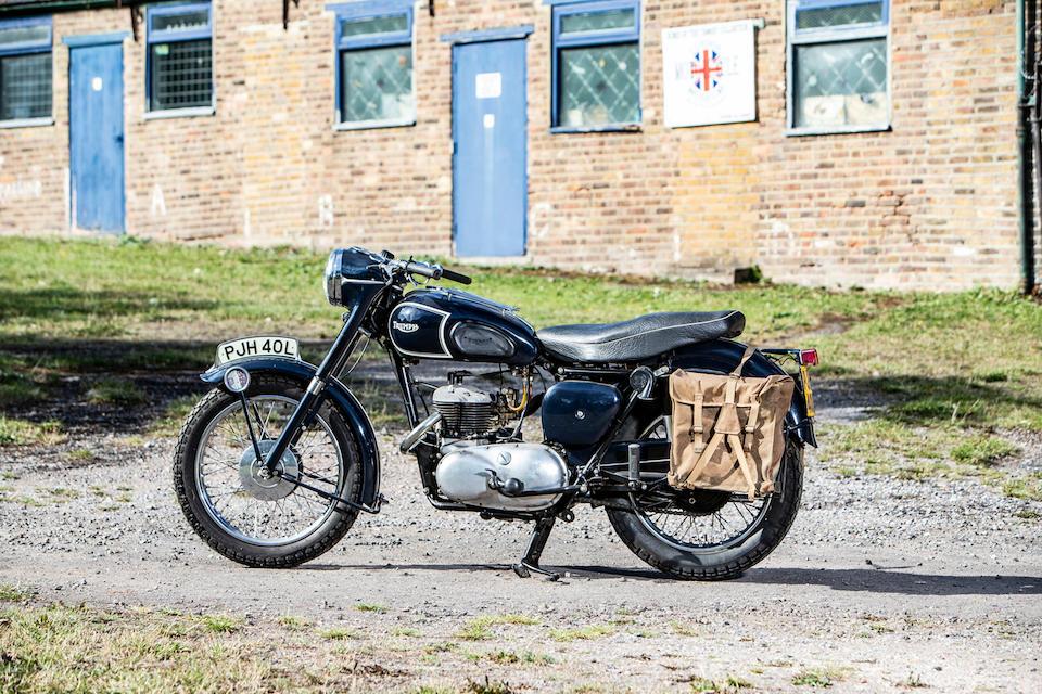 1957 Triumph 500cc TRW Springer Prototype Frame no. TRW26426NA Engine no. TRW26426NA