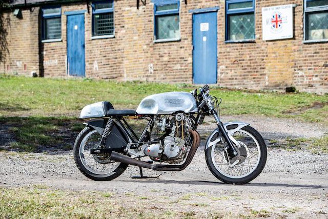 Egli-Triumph 750cc OHC Racing Motorcycle Frame no. none visible Engine no. unstamped