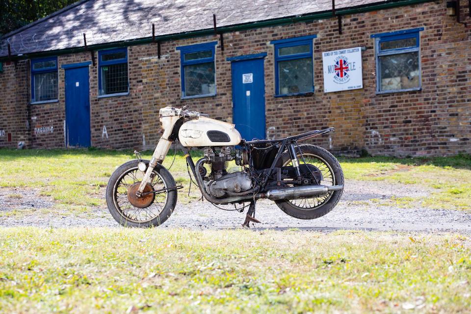 1966 Triumph 650cc 6T Saint Project Frame no. 6T DU42220 Engine no. 6T DU42220