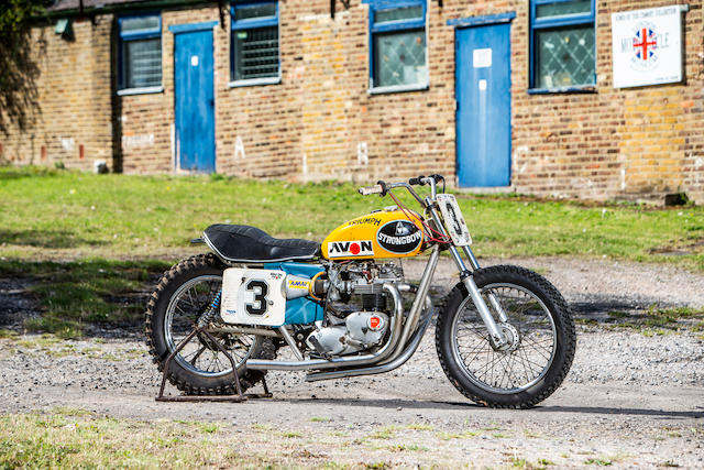 1977 Triumph 750cc T140V 'Strongbow' Flat Tracker Frame no. MD2 Engine no. T140V AP81386