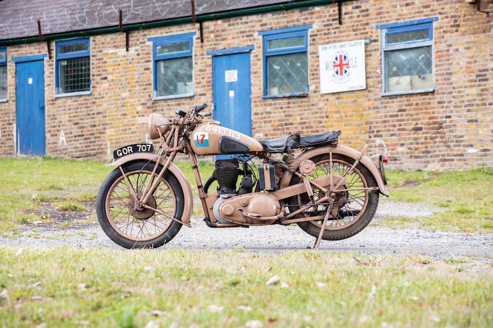 1948 BSA 496cc M20 Military Motorcycle Frame no. C12424 Engine no. WM2066828