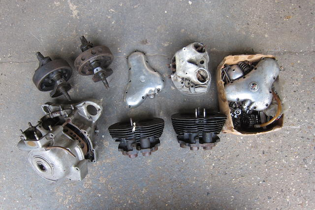 A quantity of Norton engine parts  ((Qty))