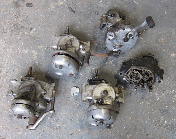 A quantity of gearboxes  ((Qty))