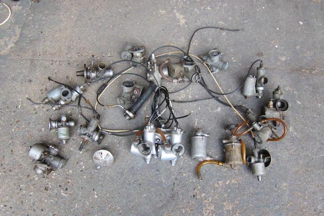 A quantity of carburettors and associated parts  ((Qty))