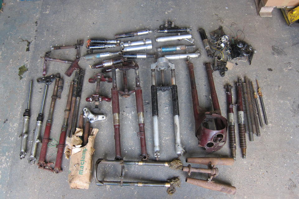 A quantity of forks and fork related components  ((Qty))