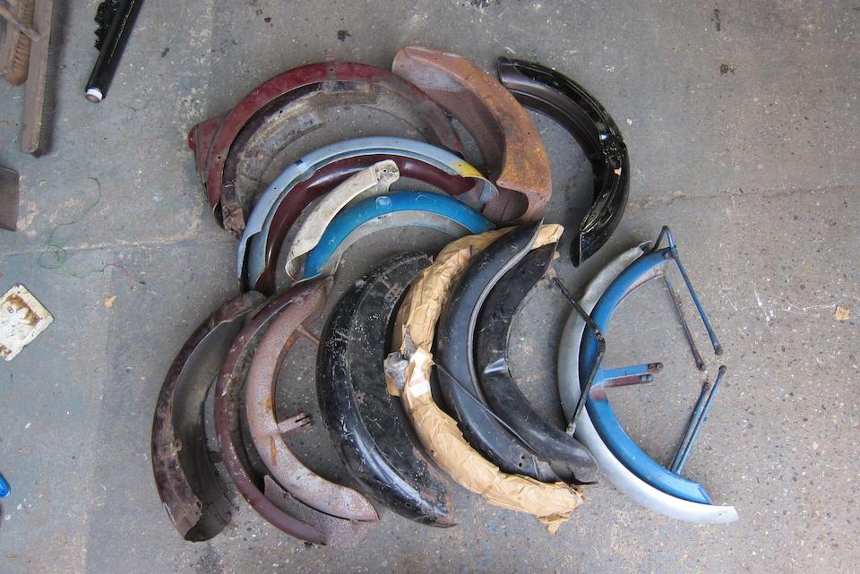 A quantity of mudguards  ((Qty))