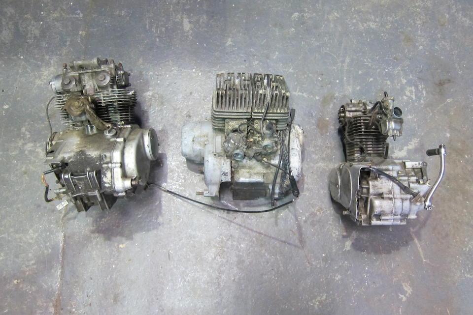 Two Honda engines  ((3))
