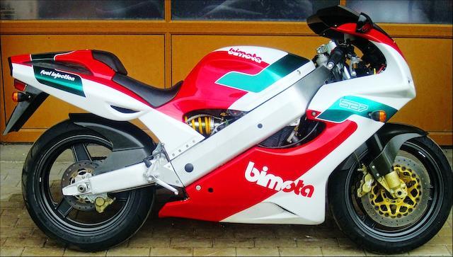 1994 Bimota 749cc SB7 Frame no. 00414 Engine no. R725-00064