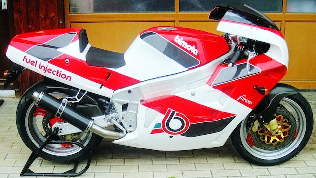 1992 Bimota 1,002cc YB8EI Furano Frame no. YB8 00833 Engine no. 3LH-901046