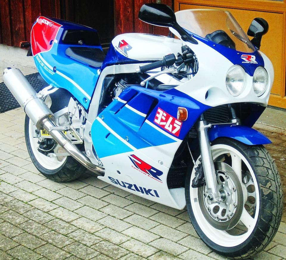 1989 Suzuki GSX-R750RR Special Edition Frame no. GR79B-100265 Engine no. R714-000270