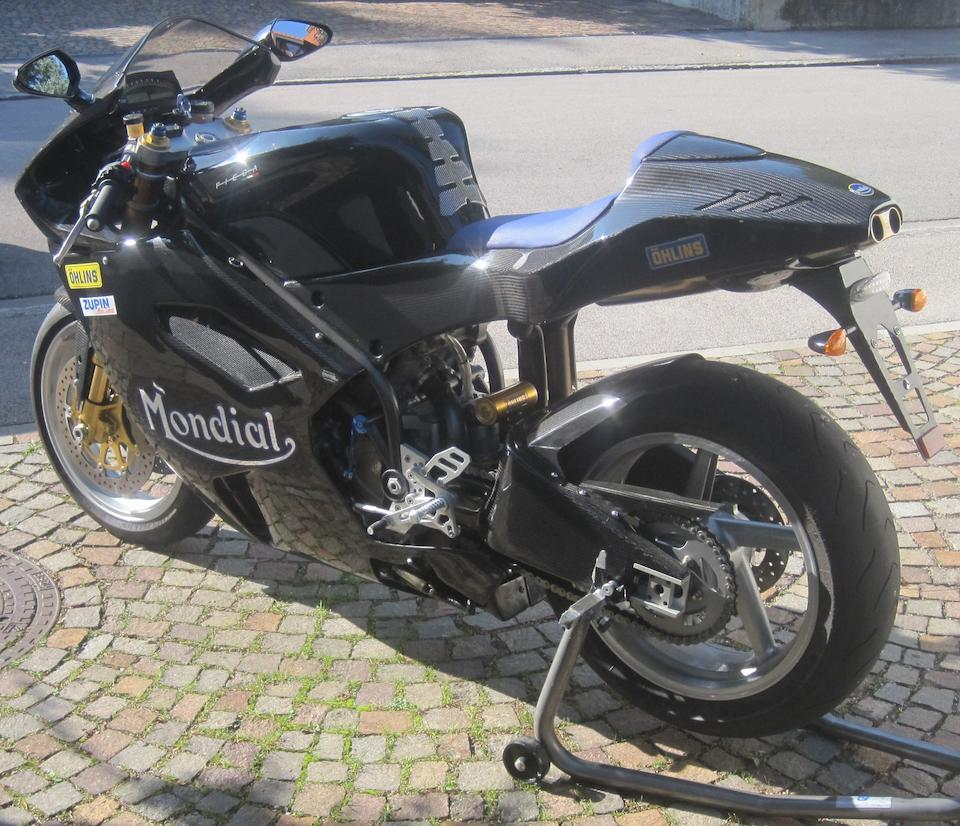 c.2000 Mondial 999cc Piega Frame no. 00025 Engine no. to be advised