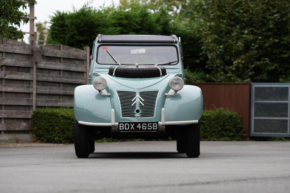 1964  Citroën 2CV Sahara AZ 4x4  Chassis no. 1100111
