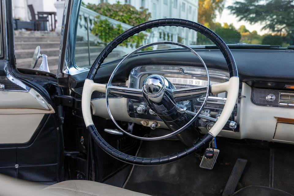 Ex-King Leopold III of Belgium,1955 Cadillac  Series 62 Eldorado Convertible  Chassis no. 556286347