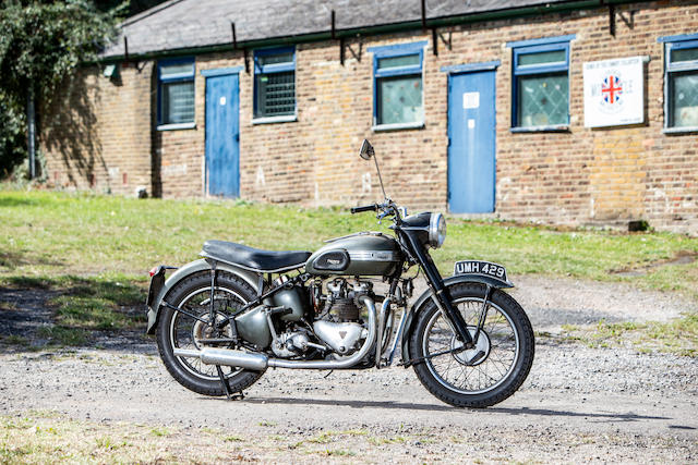 c.1949 Triumph 498cc 'Tiger 100' (see text) Frame no. over-painted Engine no. T100 9109523 (see text)