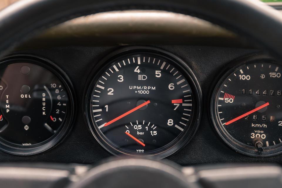 1976  Porsche  930 Turbo 3.0 Coupé  Chassis no. 9307700066 Engine no. 6770082
