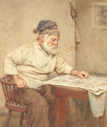 Walter Langley, RI (British, 1852-1922) Old Salt