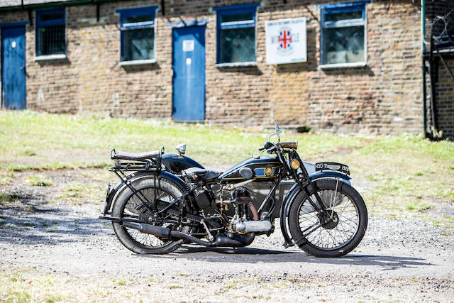 1928 Triumph 549cc Model NSD & Swallow Sidecar Frame no. 2005612 Engine no. 300645