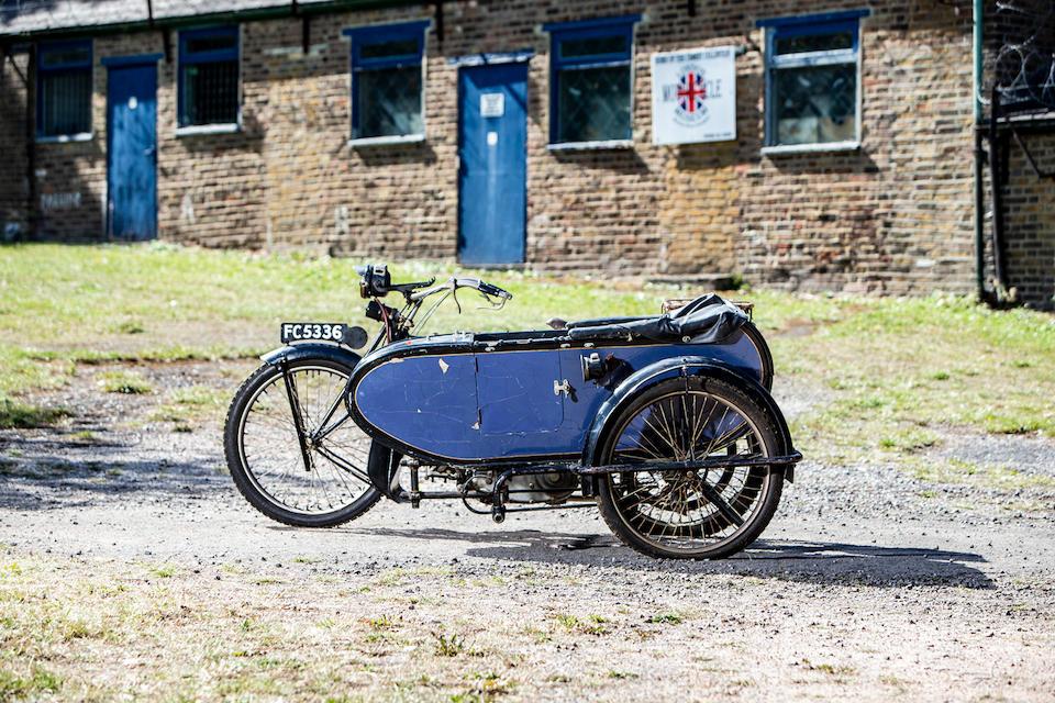 1923 Triumph 550cc Model SD Frame no. 32353 Engine no. 84310 CRR