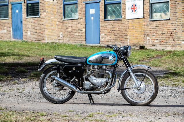 1960 AJS 646cc Model 31 CSR Frame no. A72593 Engine no. 60/31 CSX2120