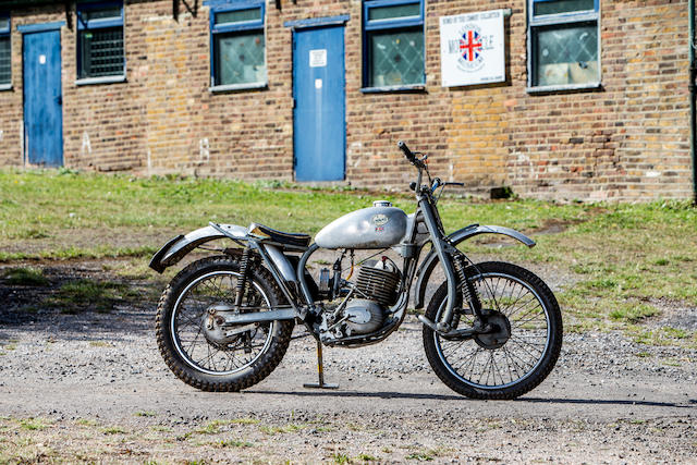 1966 Greeves 246cc 24TGS Anglian Trials Frame no. 24TGS 247 Engine no. 161FC 337