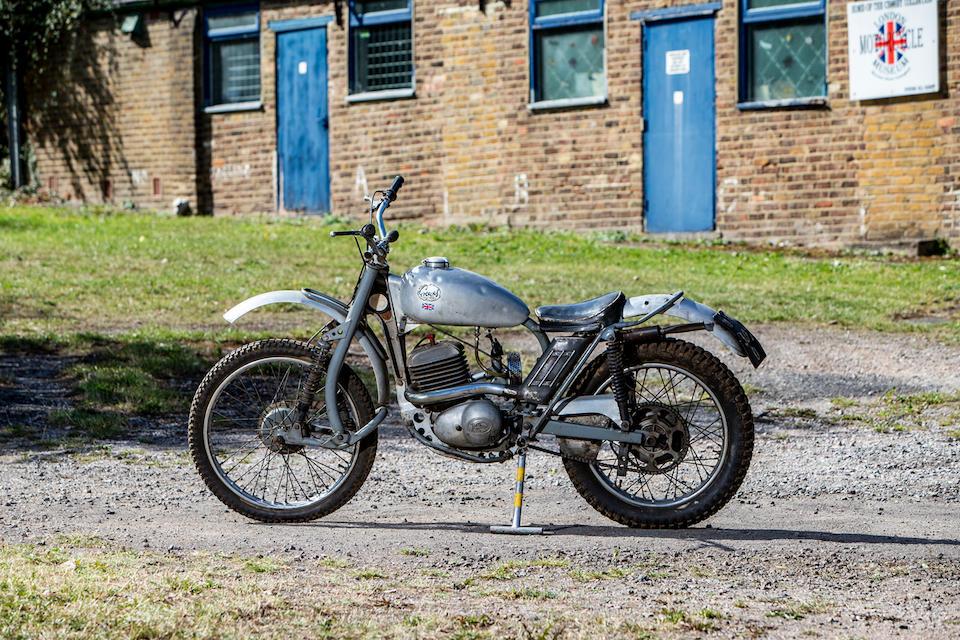 1966 Greeves 246cc 24TGS Anglian Trials Frame no. 24TGS 247 Engine no. 161FC 337