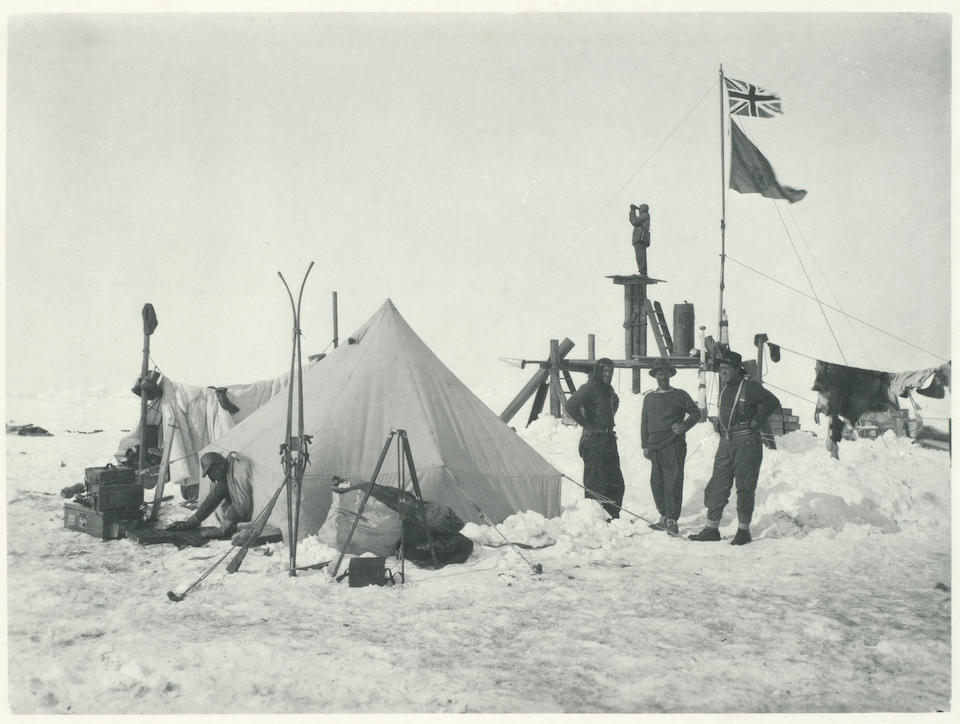 HURLEY (FRANK) Photographs of Scenes and Incidents in Connection with the Happenings to the Weddell Sea Party, 1914, 1915, 1916, [1917]