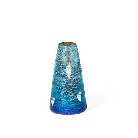 Quezal Art & Decorating Co. (American, 1901-1925) An Iridescent Glass Vase, circa 1905