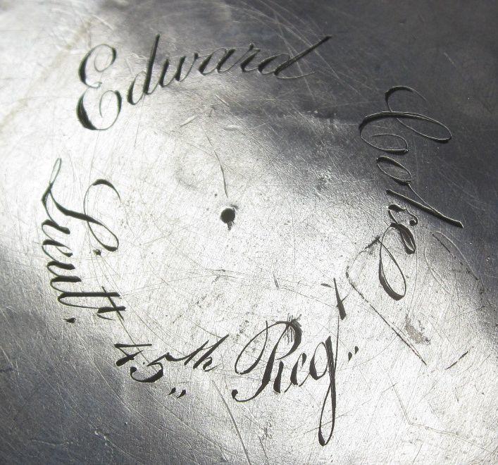 An early 19th century silver tankard unmarked, Sri Lanka or Burma circa 1831