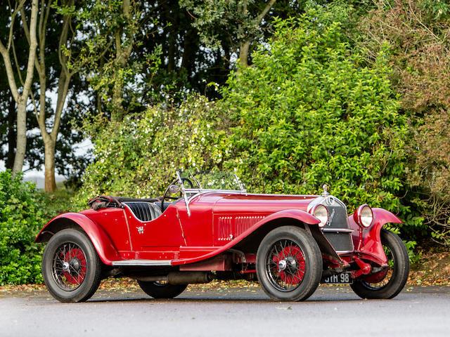 1929 Alfa Romeo 6C 1750 Supercharged Super Sport Spider