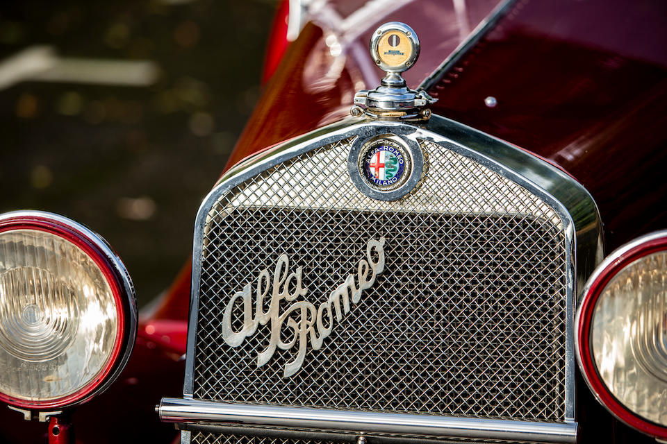 From the estate of the late Michael Hirst ,1929 Alfa Romeo 6C 1750 Supercharged Super Sport Spider  Chassis no. 0312931 Frame no. 0332931
