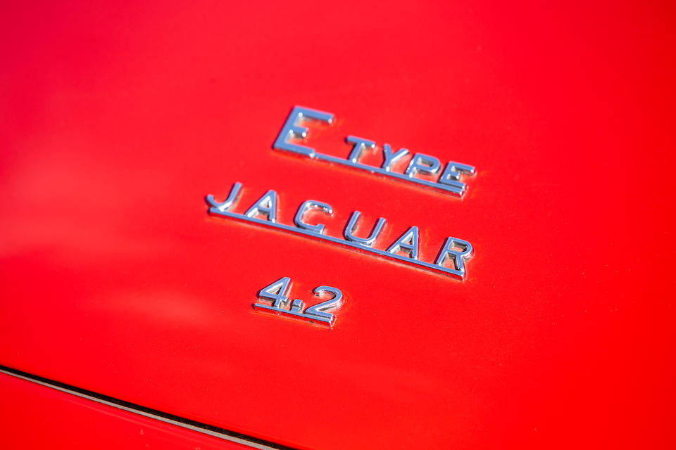 1967 Jaguar E-Type Series I 4.2-Litre Coupé  Chassis no. 1E21548