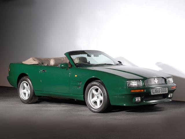 Formerly the property of HRH The Prince of Wales,1994 Aston Martin Virage Volante 6.3-Litre