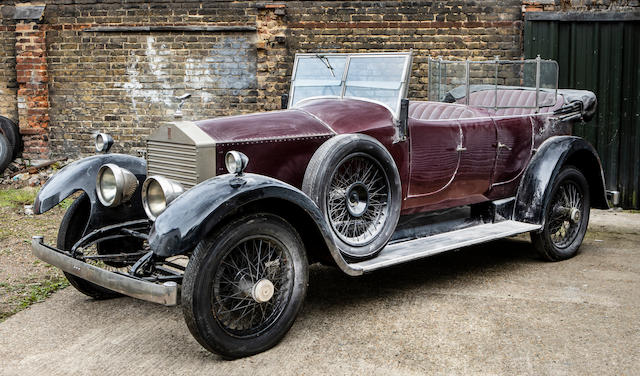 Offered from the Bursville Collection,1926 Rolls-Royce 20hp Open Tourer  Chassis no. GUK74