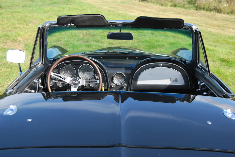The Bramah Collection,1965 Chevrolet Corvette 427 Stingray Turbo Jet Convertible  Chassis no. 1946765105409