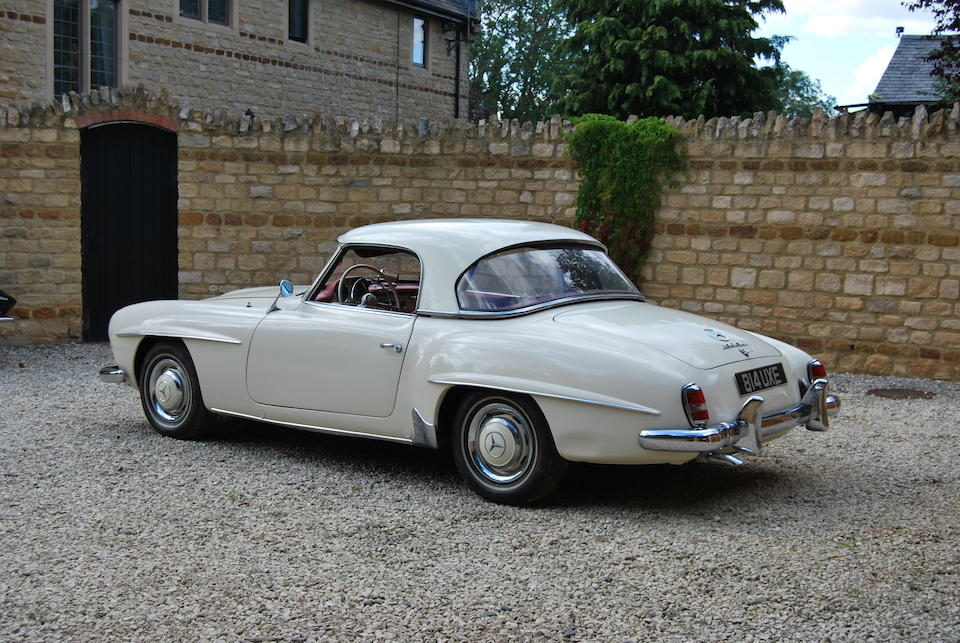 The Bramah Collection,1961 Mercedes-Benz 190SL  Chassis no. 12104010018063