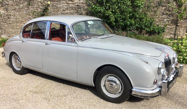 1961 Jaguar MK2 3.4  Chassis no. 157695
