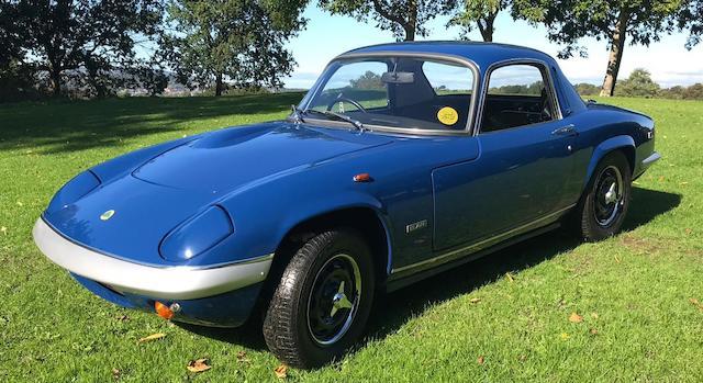1971 Lotus Elan S4  Chassis no. 7006130126E