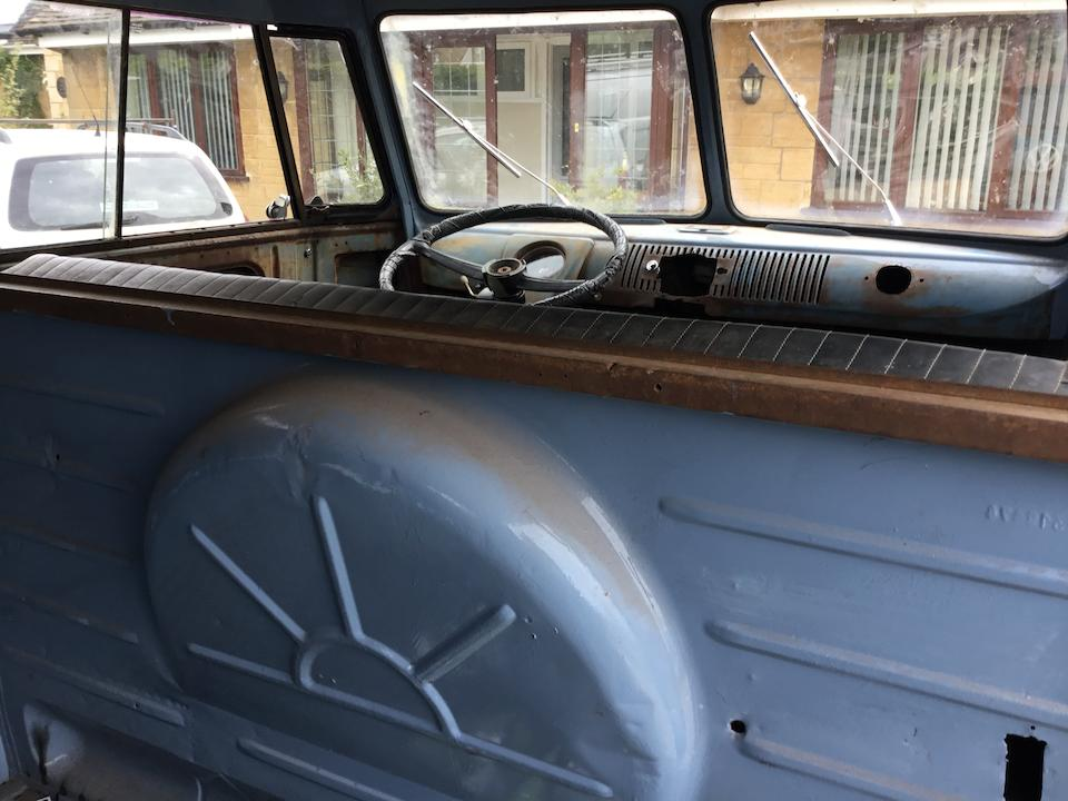 1958 Volkswagen Split Screen Panel Van  Chassis no. 345708